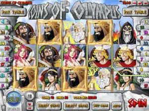 Coins of Olympus Online Slot Machine