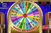 Wheel of Chance Online Slot Machine