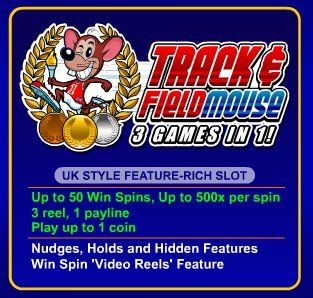 Track and Fieldmouse Online Slot Machine