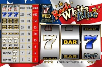 Red White and Blue Online Slot Machine