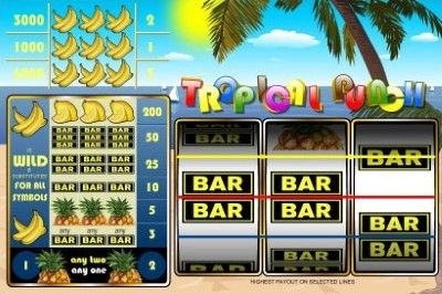 Tropical Punch Online Slot Machine