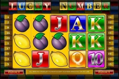 Lucky Number Online Slot Machine