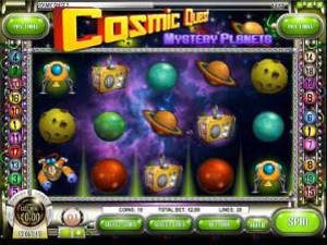Cosmic Quest: Episode 2 - Mystery Planets Online Slot Machine
