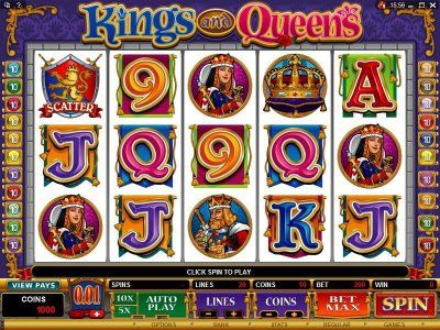 Kings and Queens Online Slot Machine
