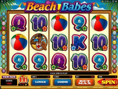 Beach Babes Online Slot Machine