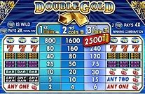 Double Gold Online Slot Machine