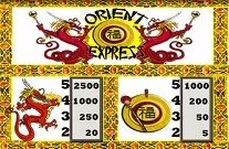 Orient Express Online Slot Machine