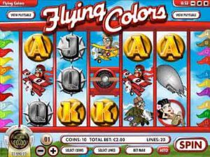 Flying Colors Online Slot Machine