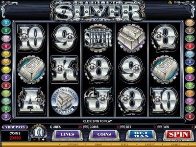 Sterling Silver Online Slot Machine