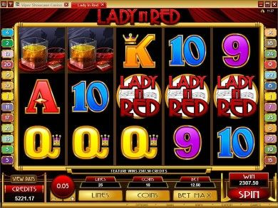 Lady in Red Online Slot Machine