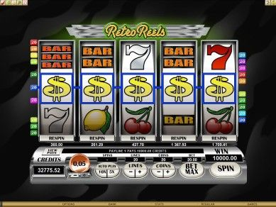 Retro Reels Online Slot Machine