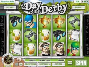 A Day at the Derby Online Slot Machine