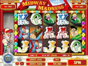 Midway Madness Online Slot Machine