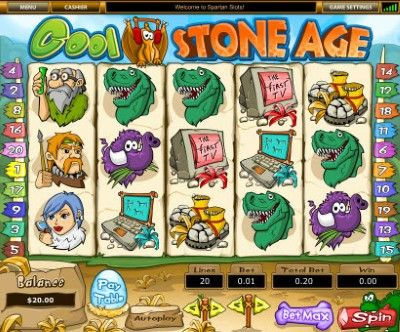 Cool Stone Age Online Slot Machine