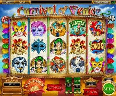 Carnival of Venice Online Slot Machine